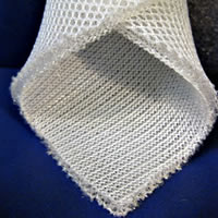 spacer fabrics surface structure